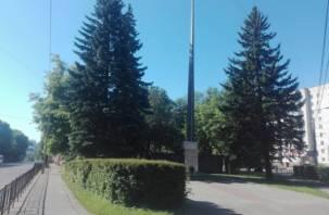 В Смоленске появился ещё один сквер