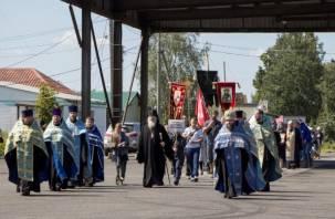 Крестный ход из Витебска прибыл на Смоленщину