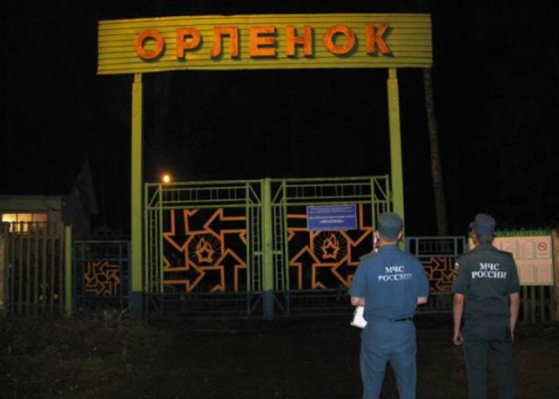 Смоленский детский лагерь эвакуировали