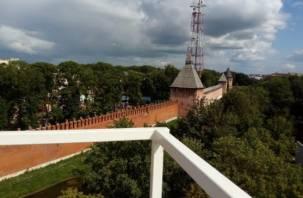 В Сети появились первые кадры со строящегося колеса обозрения в Смоленске