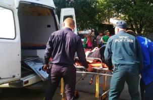 В Сафоновском районе в ДТП с автобусом и грейдером пострадали люди