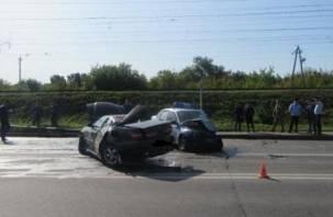 Три человека получили ранения. Подробности аварии с авто полицейских