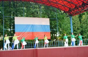 В Смоленске отпраздновали День флага. Как это было