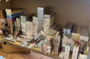 Незаконный бизнес родственников. Смоленская полиция изъяла сигарет на 5 млн рублей