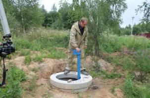 Жителям деревни Радкевщина провели централизованное водоснабжение, но подрядчик «накосячил»