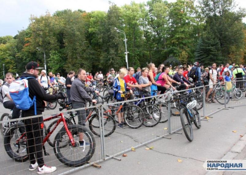 В Смоленске пройдёт ночной велопарад