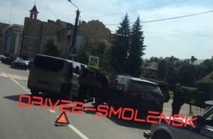 Спецоперация по задержанию прошла в самом центре Смоленске
