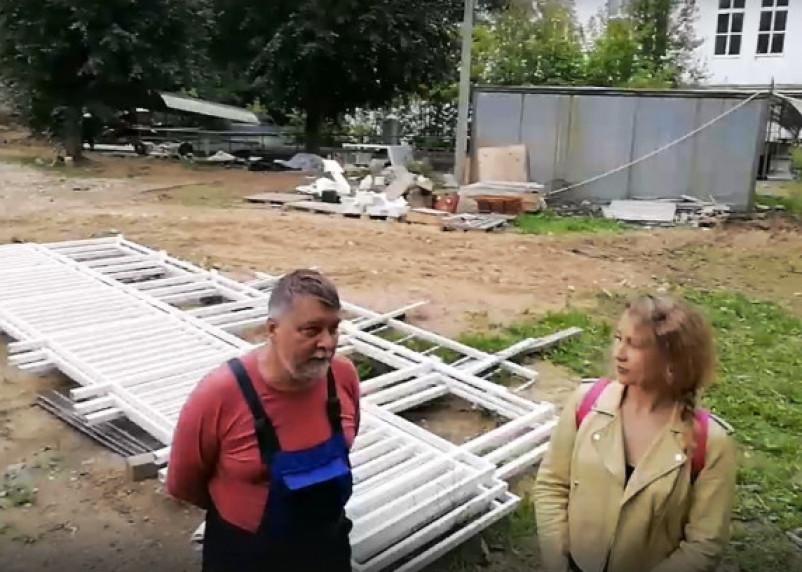 Чиновники не разрешили открывать колесо обозрения в Смоленске