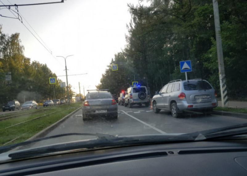 В Смоленске полиция ищет очевидцев ДТП со сбитой девочкой