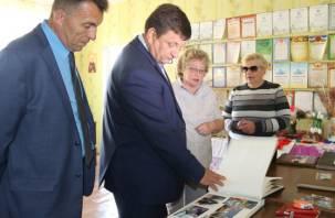 Игорь Ляхов в Дорогобужском районе сделал «по-маленькому»