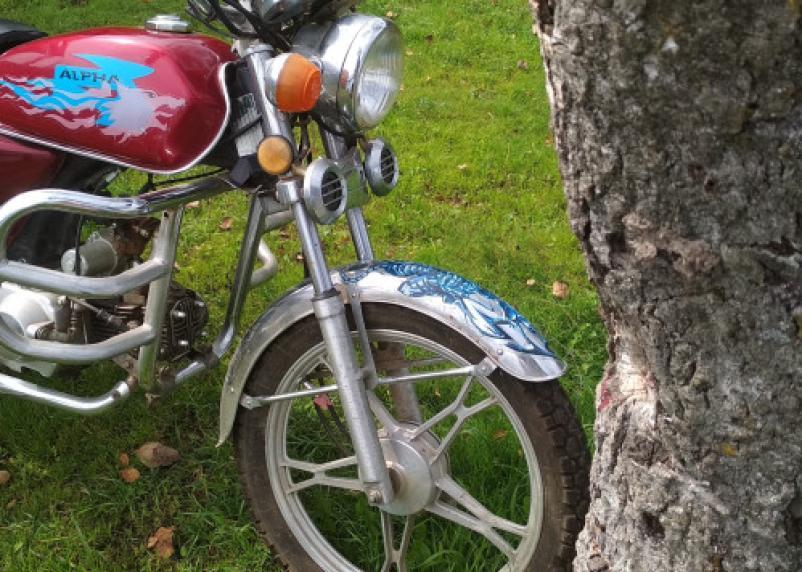 В Смоленской области парень на мопеде протаранил дерево