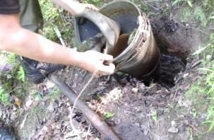 В Смоленске на Королевке наладили добычу керосина из авиационного топлива