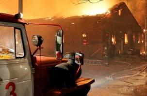 42 человека погибли в пожарах, в том числе ребенок