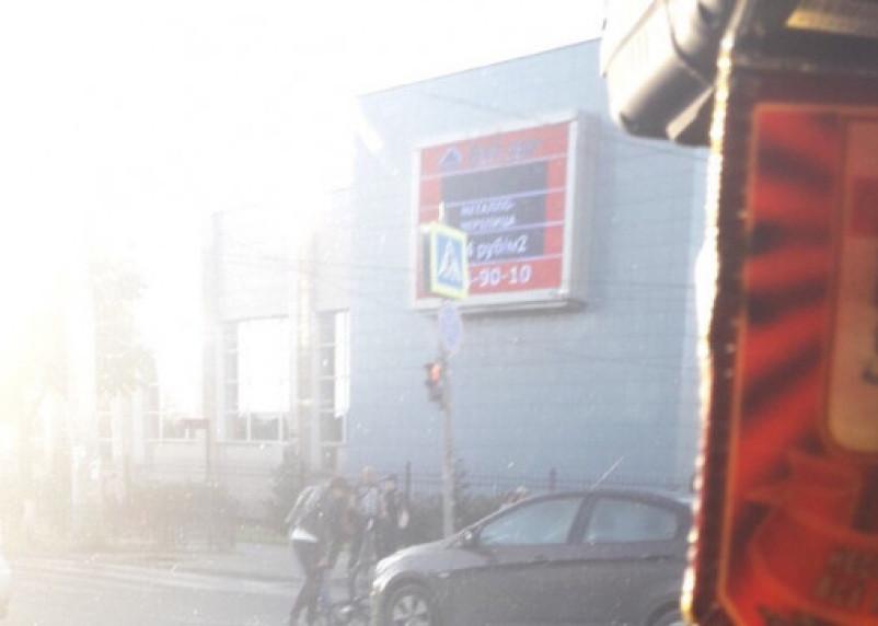 Авто сбило велосипедиста в центре Смоленска