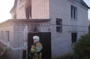 Герой дня. В Смоленском районе молодой сосед вытащил детей из огня