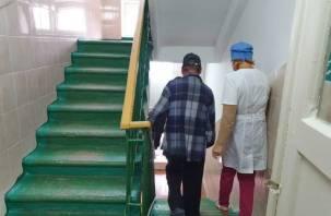 В Рославле эвакуировали противотуберкулезный диспансер