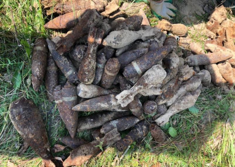 В Ельнинском районе сапёры обезвредили 126 боеприпасов
