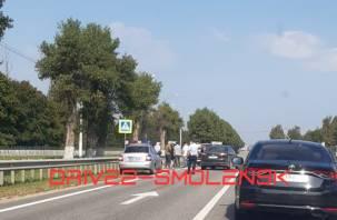 Соцсети: в Пригорском сбили пешехода