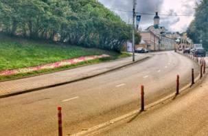 В центре Смоленска из ремонтируемого дома исчез кабель
