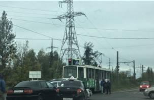 Авария в Смоленске остановила движение трамваев