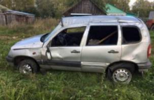 В Смоленской области автоледи вылетела с проезжей части