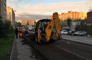 Две улицы и два переулка в Смоленске ждет ремонт