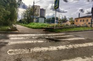 В Смоленской области ВАЗ сбил женщину