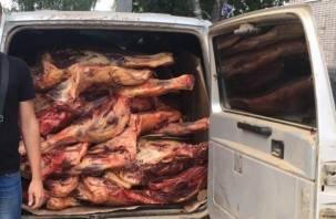 В Смоленской области хотели продавать опасное мясо