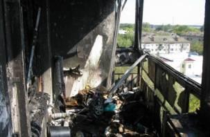 Восьмилетняя смолянка сама спасла себя из горящей квартиры