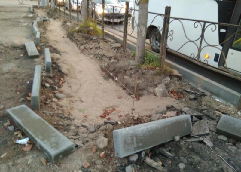 «Реконструкторы» проспекта Гагарина забыли о пешеходах