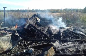 Проверила, нет ли утечки газа. В Демидовском района хозяйка спалила свой дом с хозпостройками