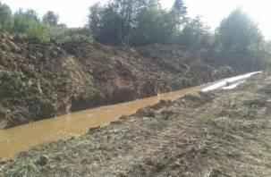 Почти 55 тысяч вязьмичей остались без воды из-за аварии