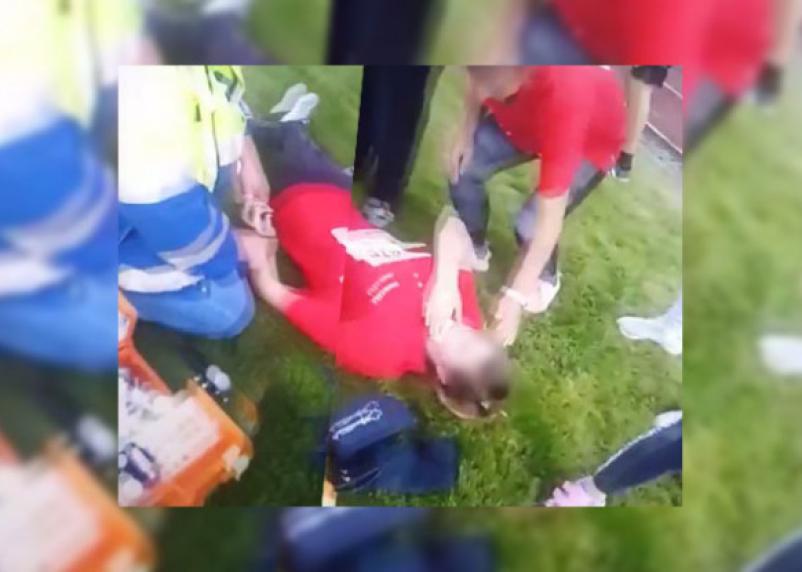 В Смоленской области рухнувшая конструкция на стадионе чуть не убила девочку-подростка