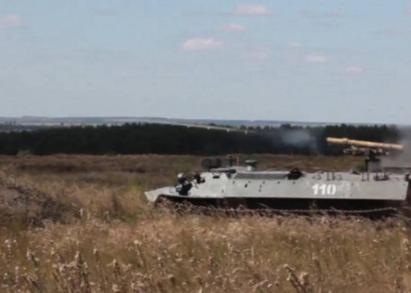 Опубликовано видео масштабных стрельб артиллерии в Западном военном округе