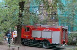 В Смоленске произошел взрыв бытового газа в жилом доме?
