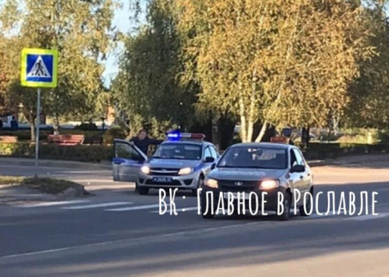 В Рославле таксист сбил женщину на пешеходном переходе