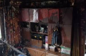 В Рославле смоляне спасли своих соседей от огня