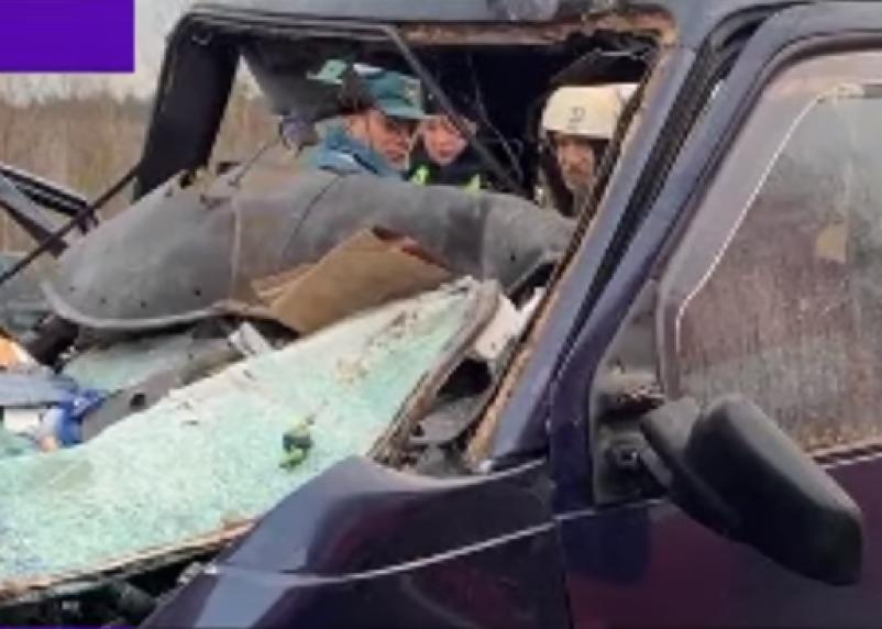Три белоруса погибли в страшной аварии на трассе М-1 в Смоленской области