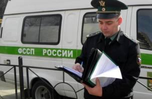 Смоленские приставы арестовали туристический автобус