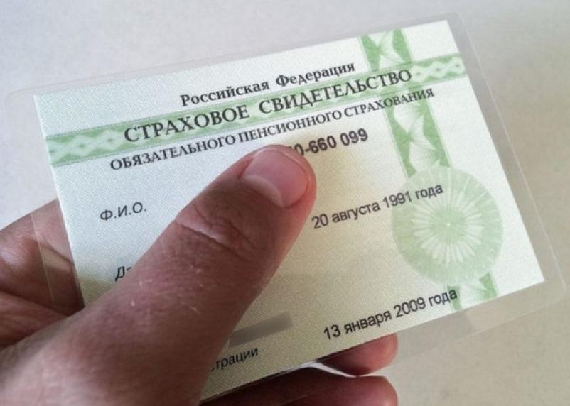 В России СНИЛС сменил формат