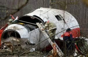 Поляки снова осматривают обломки самолёта Леха Качиньского