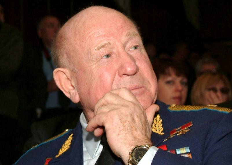 Алексей Леонов на Гагаринских чтениях. Фоторепортаж из прошлого