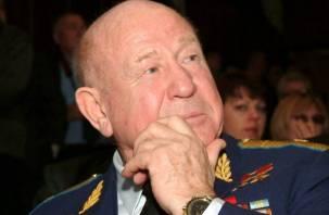 Космонавта Алексея Леонова похоронили на военном кладбище в Подмосковье