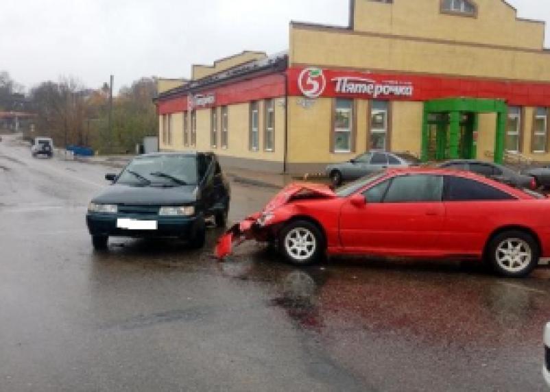 Подробности серьёзного ДТП в Рославле. Водитель иномарки госпитализирован