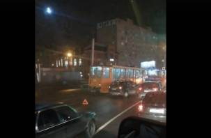 В Смоленске из-за ДТП стали трамваи