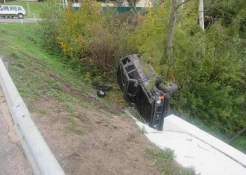 Водитель УАЗа пострадал в ДТП с Патролом в Смоленске
