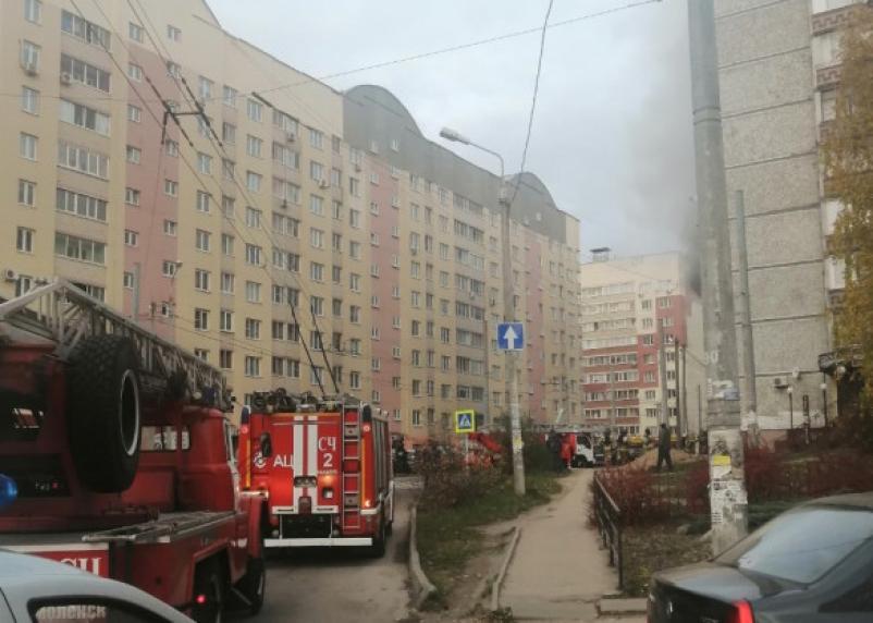 Утренний пожар переполошил жителей Рыленкова