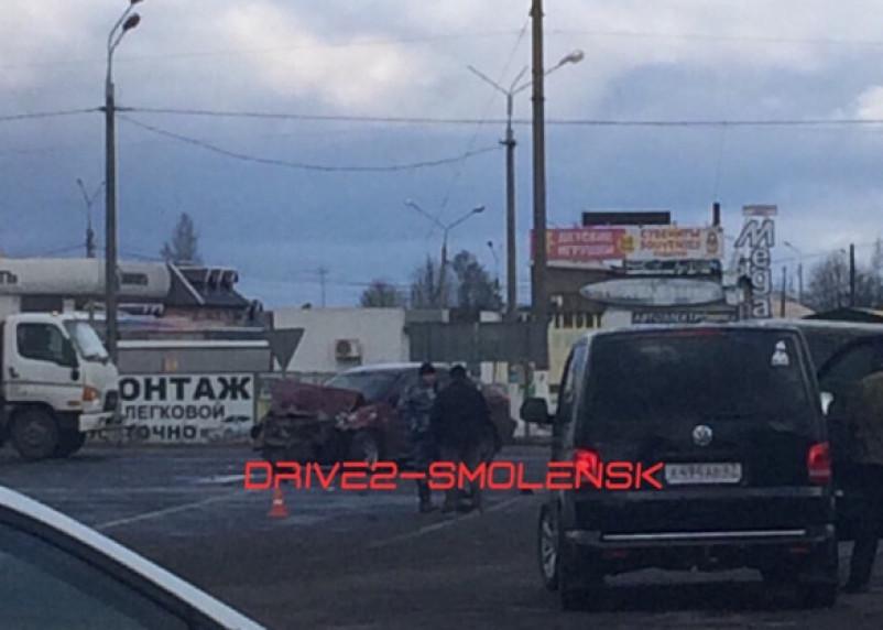 Подробности ДТП в Ярцевском районе. Два человека госпитализированы