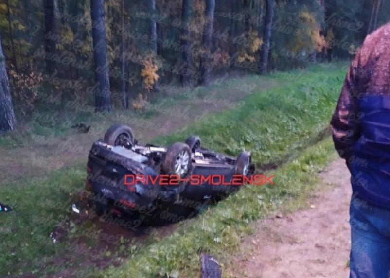 В Смоленске в ДТП на Витебском шоссе пострадал человек