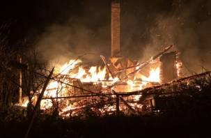 Почти 2,5 тысячи пожаров произошло в Смоленской области с начала года